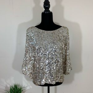 Vince Sequins Blouse